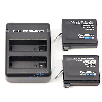 New Original Gopro AHDBT-401 Battery Or Charger for Gopro Hero4 HD