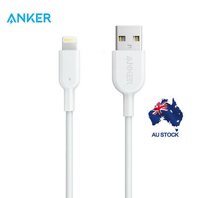Anker Powerline II Lightning USB Cable MFi Certified Cable for iPhone 3ft