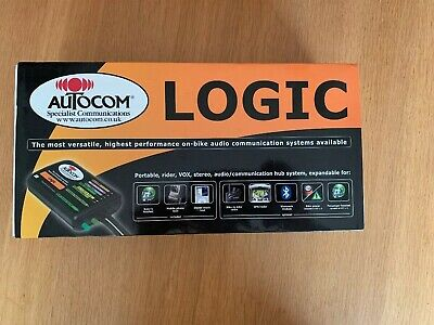 Autocom Logic Kit L1  Motorbike Intercom System In Excellent Condition
