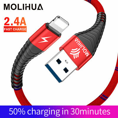 1M 2M USB Speedy Data Charger Cable For iPhone 5 6 7 8 XS Max iPod Fast Charging