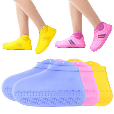 Waterproof Silicone Overshoes Rain Shoe Covers Boot Cover Protector Recyclable