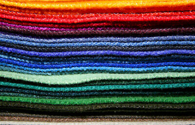 The Craft Factory F12 | 70/30% Viscose/Wool Felt 30cm/12in Square 10 pack