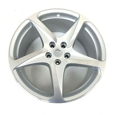 "New Genuine Ferrari FF 10.5J x 20"" ET53.4 Silver Alloy Wheel 260698"
