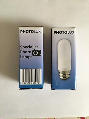 Photolux 240v 250w E27 Frosted Bowens M151P 64480 BW1024 Set of TWO