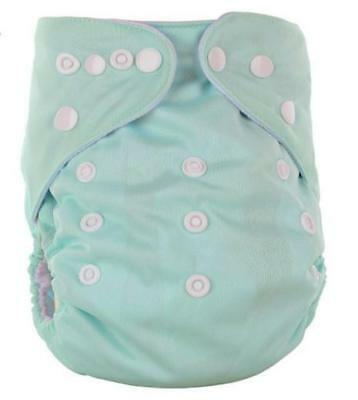 Reusable Adjustable One Size Newborn Baby Pocket Cloth Diaper