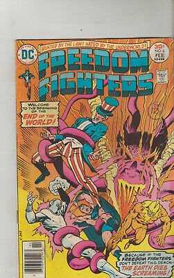 *** Dc Comics Freedom Fighters #6 Vg ***