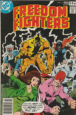 *** Dc Comics Freedom Fighters #13 Vg+ ***