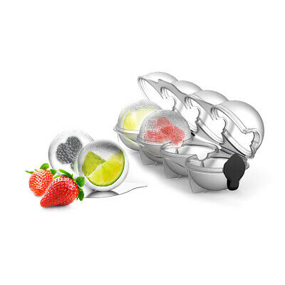 Perpara Ice Ball Tray Ice Cold Drinks Summer Whisky Balls Bar Summer Chilled
