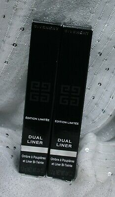 Givenchy Dual Liner Limited Edition Two Tone Eyeshadow & Liner Choose Shade