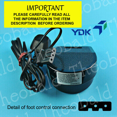 New Quality Sewing Foot Control/Pedal And Lead For Most Brother Machines