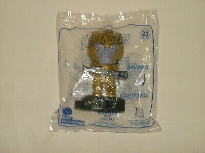 McDONALDS 2019 MARVEL AVENGERS END GAME HAPPY MEAL TOY #23 Thanos