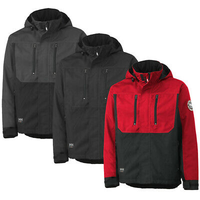 Helly Hansen Mens Berg Insulated Reflective Detachable Hooded Jacket