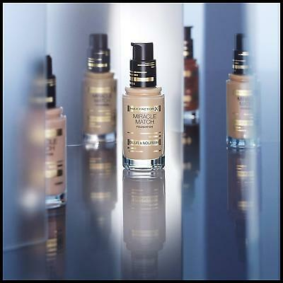 Max Factor Miracle Match Blur & Nourish Foundation *Choose Your Shade*