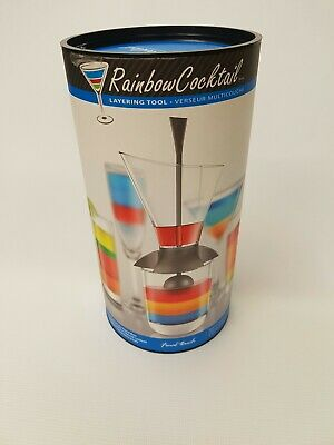 Final Touch Rainbow Cocktail Layering Tool. New in Box