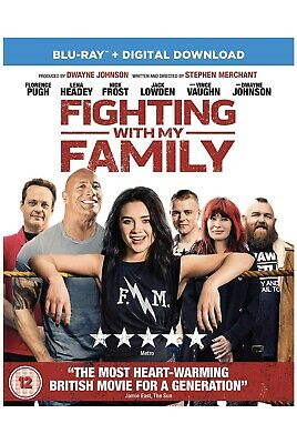 Fighting With My Family - Blu-ray - Official UK Stock - Brand New & Sealed