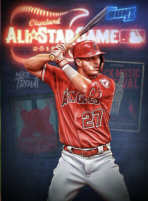 Topps Bunt 2019 All Star Game Motion Choose The Digital Card