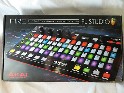 Akai Professional Fire First Hardware Controller For Fl Studio Factory Sealed