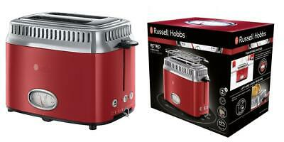 Russell Hobbs Grille-Pain, Toaster Retro Vintage, Fonction Annulation,...