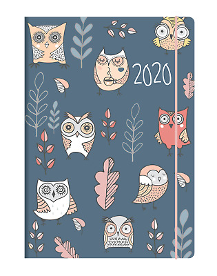 2020 Debden Woodland Diary A6 Day to Page Owl CF61-WL-20
