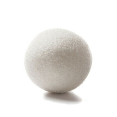 6pcs Wool Dryer Balls Reusable Natural Organic Laundry Fabric Softener Ball Good