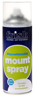 Frisk Repositionable Mount Spray 400ml Can