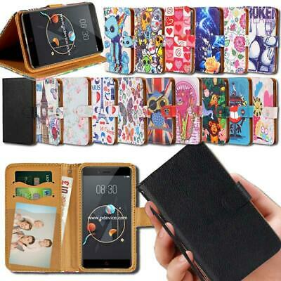 Flip Leather Smart Stand Wallet Cover Case For Various ARCHOS Smartphones