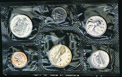 1994 Canada Prooflike PL set - 6 perfect coins in org packaging and certificate