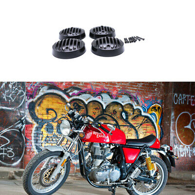 Motorbike Turn Signal Indicator Light Grille Cover For Royal Enfield Classic 500
