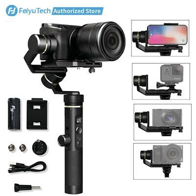 Feiyu G6 Plus 3-Axis Handheld Gimbal Stabilizer for Cellphones/Gopro/DSLR Cams
