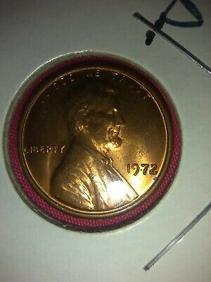 1972 d double die obverse Lincoln memorial cent DDO