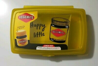 limited edition Vegemite lunch Box Brand New