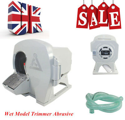 500W Dental Wet Model Trimmer Equipment Disc Gypsum Arch Machine 2800rpm UK
