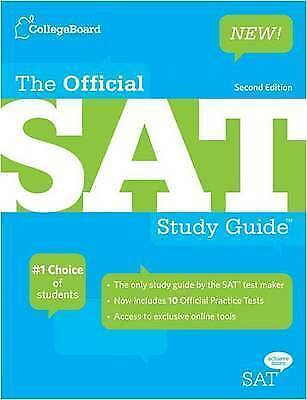 The Official SAT Study Guide, The College Board, Very Good Book