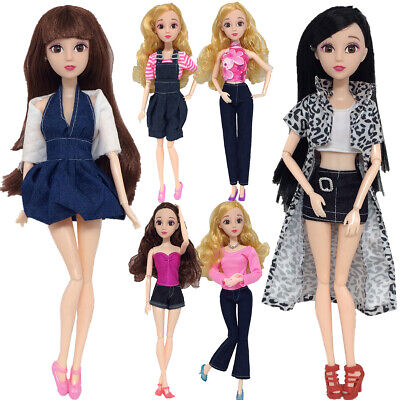 6Type Pants Short Skirts Casual Outfit Dress Clothes For Barbie Doll Accessorie