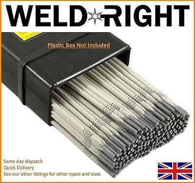 Weldright General Purpose E6013 Arc Welding Electrodes Rods 1.6-3.2mm 5-100 Rods