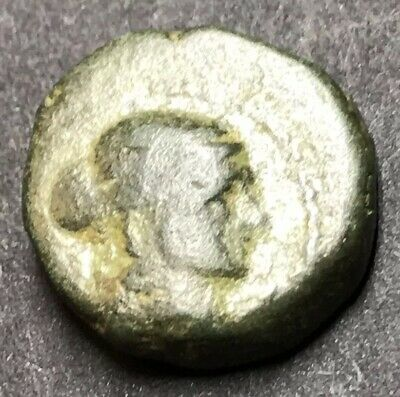 RECOMMENDED - Cleopatra VII Philopater AE18. 25 BC. Paphos, Cyprus Mint.