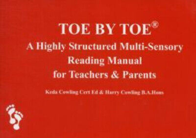 Toe by Toe: A Highly Structured Multi-sensory Reading Manual for Teachers and