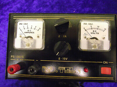 USED Regulated Power Supply with Variable Output Voltage & Amps   8V-15v