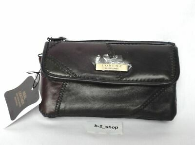 9310240d0477 WOMENS LADIES LEATHER Purse Wallet Black NEW WITH TAGS - £6.97 ...