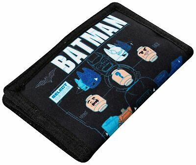 Official Batman Lego Movie Boys Trifold Money Change Notes Wallet New