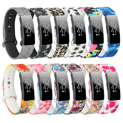 Replacement Pattern Secure Strap for Fitbit Inspire Metal Buckle Tracker