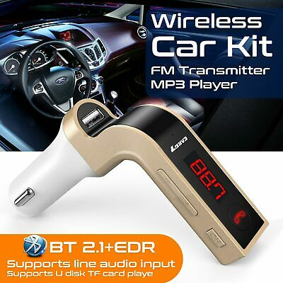 Wireless Car Bluetooth Fm Transmitter Kit for Mp3 Music Radio Player & USB Port