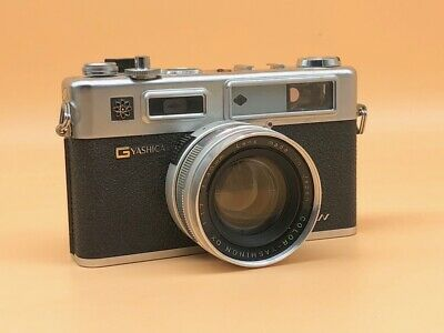 Yashica Electro 35 GSN Rangefinder Camera 45mm f1.7 Lens, New Light Seals Fitted