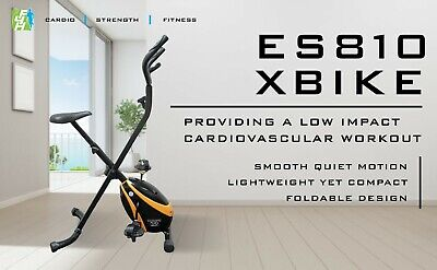 810 Folding Bike Aerobic Folding Cardio Weight Fitness Exercise Machine Home Gym