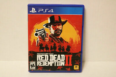 PS4 Red Dead Redemption 2 - Excellent Condition - 2018 Playstation 4 Video Game