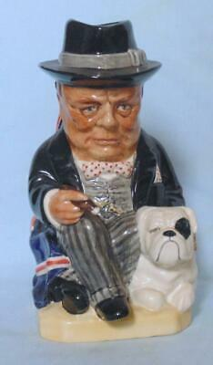 Kevin Francis Character Jug Little Winston Limited Edition