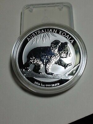 2016  Silver 1 oz. Australian Koala Walking Brilliant Uncirculated! BU!