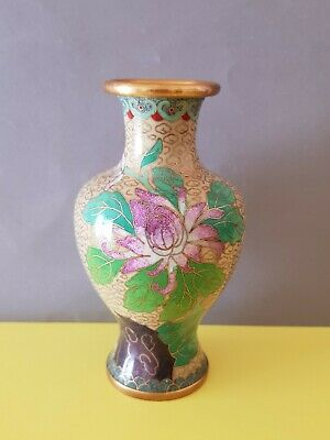 Alte cloisonne Emaill Arbeit Messing China?