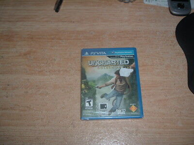 Uncharted Golden Abyss (Ps Vita) Brand New (Free Tracked Shipping Worldwide!)