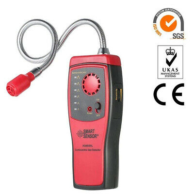 Portable Combustible Natural Gas Propane Leak Detector Test Visual Leakage K7S4N